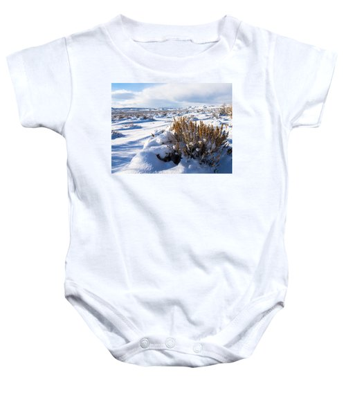 Sand Wash Basin In The Winter Baby Onesie