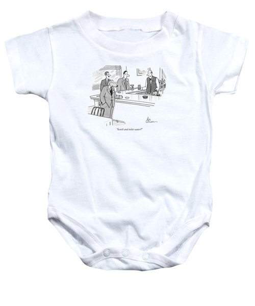 Scotch And Toilet Water? Baby Onesie