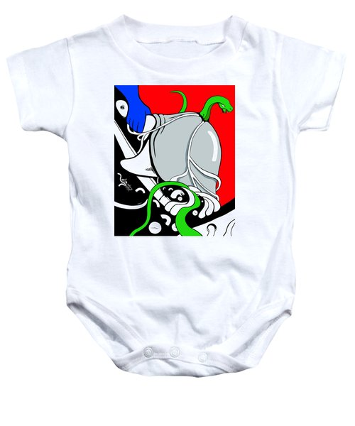 Serpent Of Time Baby Onesie