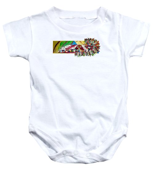Shango Firebird Baby Onesie