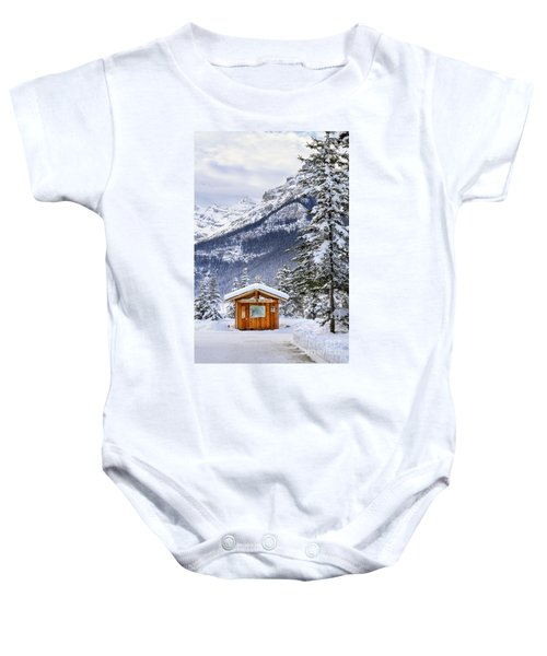 Silent Winter Baby Onesie