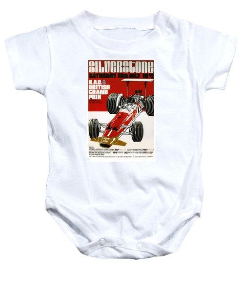 Silverstone Grand Prix 1969 Baby Onesie