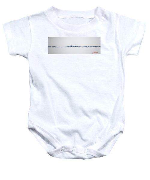 Skyline 10x30-2 Baby Onesie
