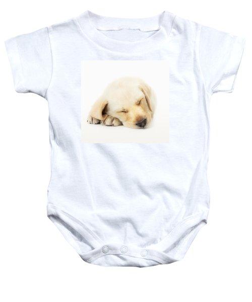 Sleeping Labrador Puppy Baby Onesie