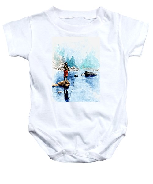 Smoky Day At The Sugar Bowl Baby Onesie