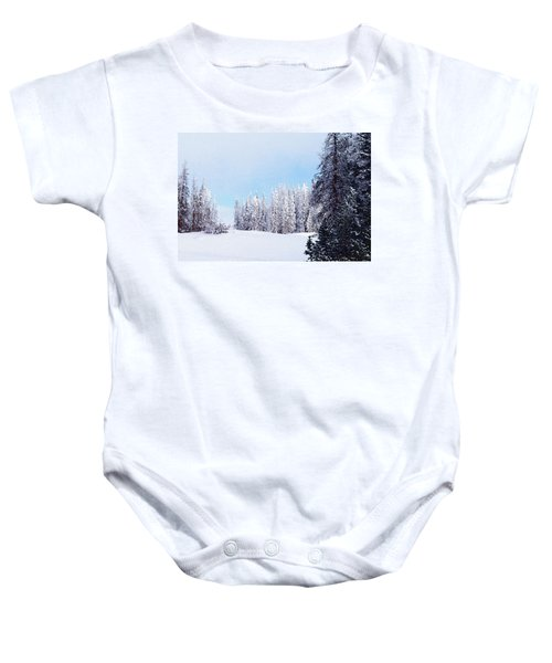 Snowbound Baby Onesie