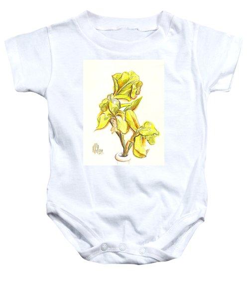 Spanish Irises Baby Onesie