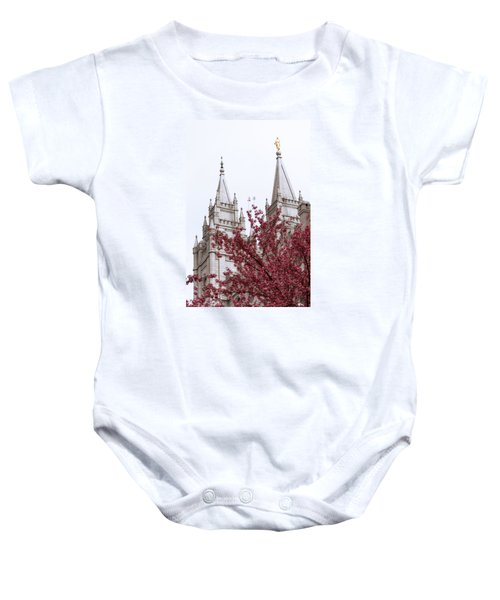 Spring At The Temple Baby Onesie