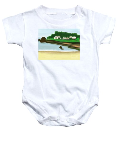 A Peaceful Life  Baby Onesie