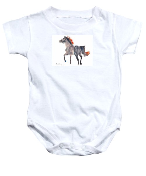 Da151 Star Dust By Daniel Adams Baby Onesie