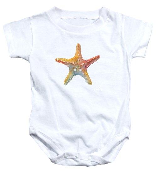 Starfish Baby Onesie