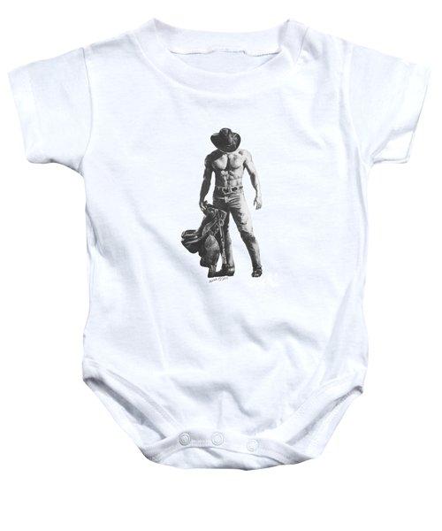 Strength Of A Cowboy Baby Onesie