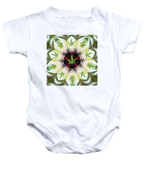 Sweetleaf Mandala Baby Onesie
