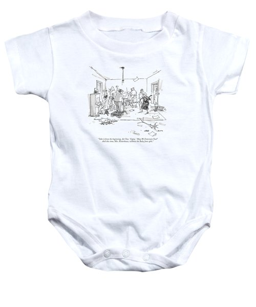 Take It From The Beginning. Act One. 'gypsy.' Baby Onesie