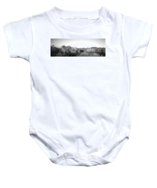 Tall Grass At The Lakeside, Anhinga Baby Onesie