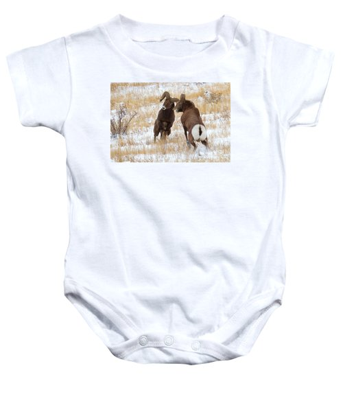 The Battle For Dominance Baby Onesie