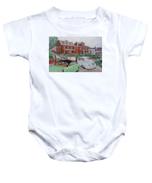The Car Movers Of Phi Sigma Kappa Osu 43 E. 15th Ave Baby Onesie