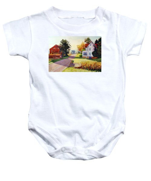 The Country Road Baby Onesie