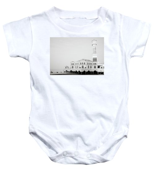 The Floating Mosque Baby Onesie