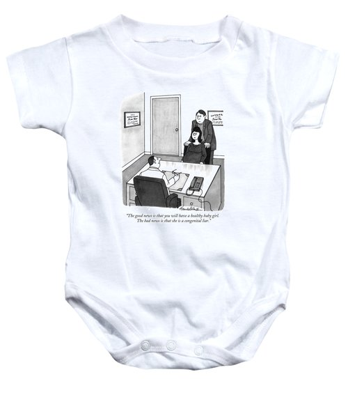 The Good News Is That You Will Have A Healthy Baby Onesie