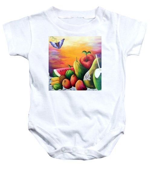 The Harvest 1 Baby Onesie