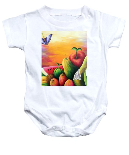 The Harvest 1 Baby Onesie