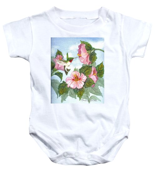 The Little Sipper Baby Onesie