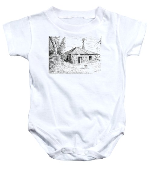 The Old Homestead Baby Onesie