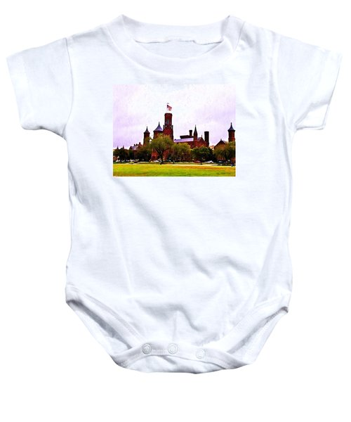 The Smithsonian Baby Onesie by Bill Cannon