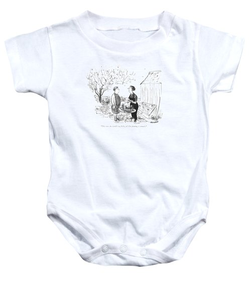 The State The World's Baby Onesie