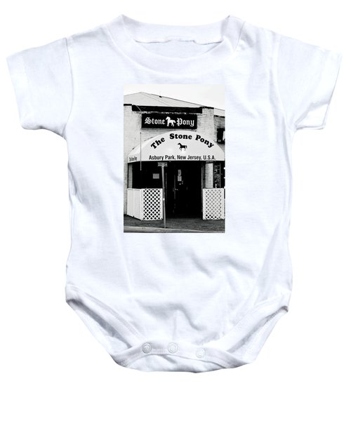 The Stone Pony Asbury Park Nj Baby Onesie
