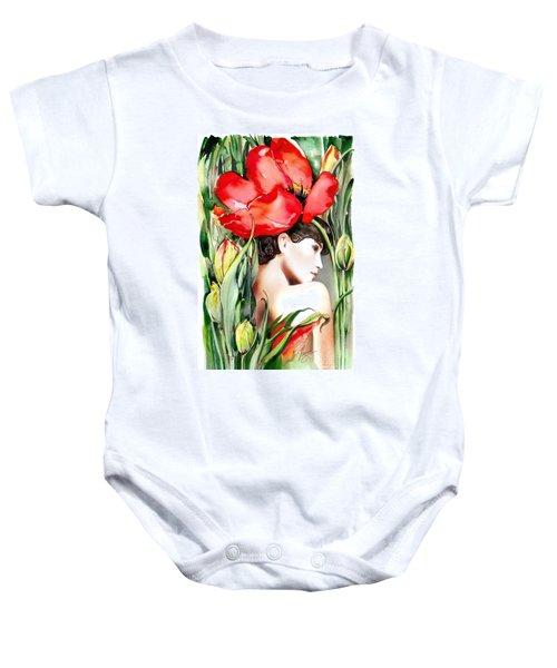 The Tulip Baby Onesie