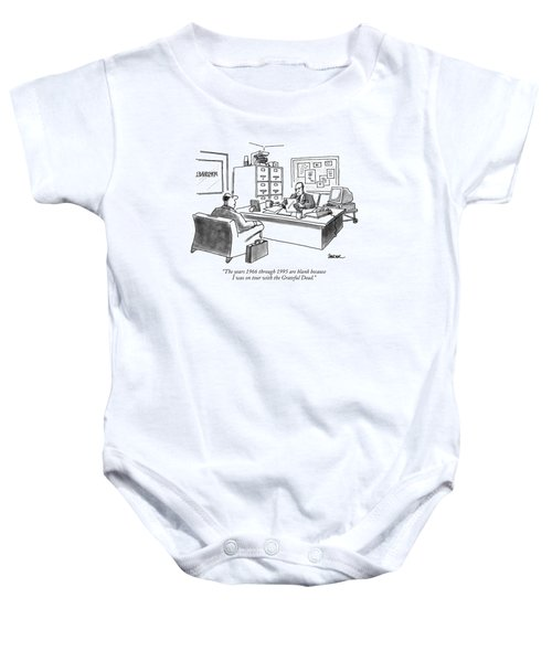 The Years 1966 Through 1995 Are Blank Because Baby Onesie