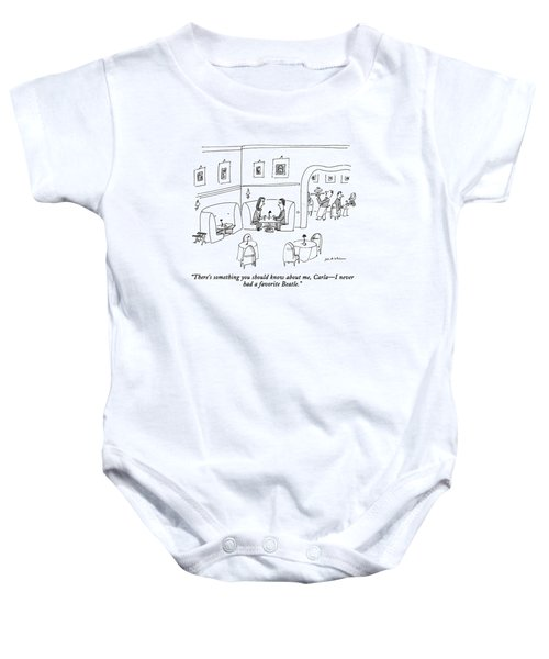 There's Something You Should Know Baby Onesie