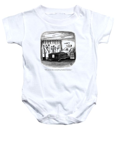 This Patient Has A Rare Form Of Medical Insurance Baby Onesie