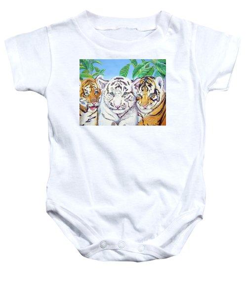 Tiger Cubs Baby Onesie