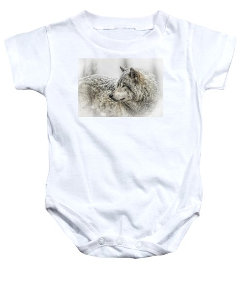 Timber Wolf Pictures 280 Baby Onesie