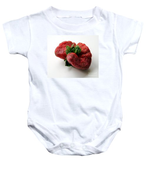 Tina's Strawberry Baby Onesie