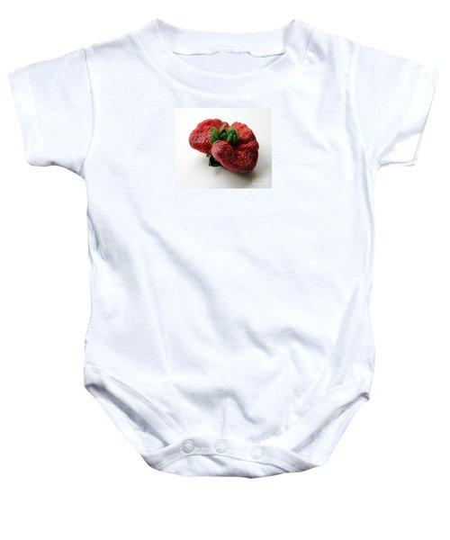 Tina's Strawberry Baby Onesie