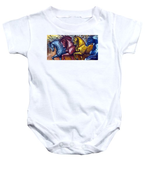 Together Again Baby Onesie