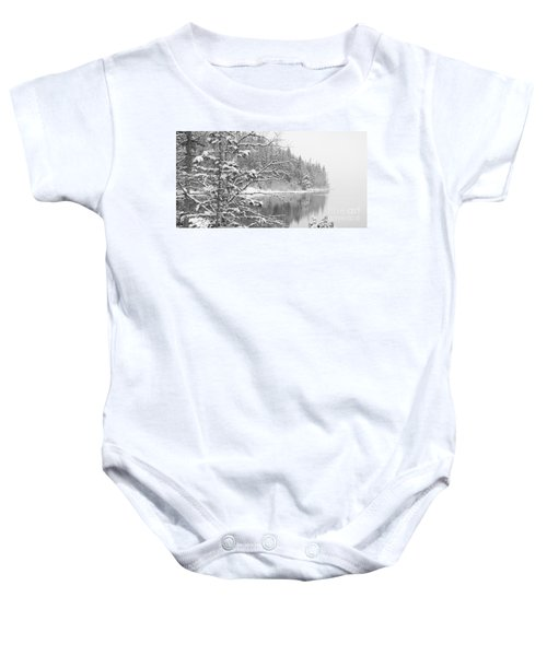 Touch Of Winter Baby Onesie