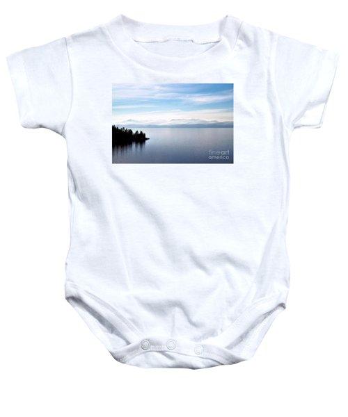 Tranquility - Lake Tahoe Baby Onesie