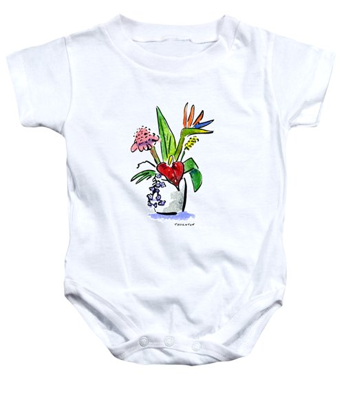 Tropical Mix Baby Onesie