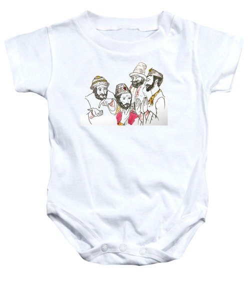Tsar And Courtiers Baby Onesie