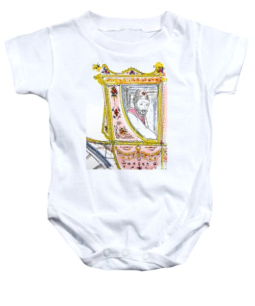 Tsar In Carriage Baby Onesie