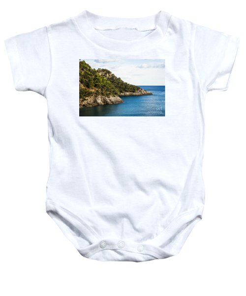 Twin Points Of Italy Baby Onesie