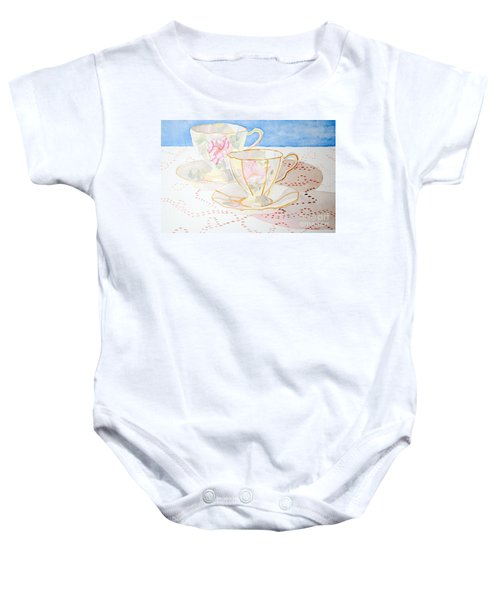 Two For Tea Baby Onesie