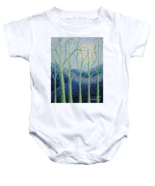 Two Hearts Baby Onesie