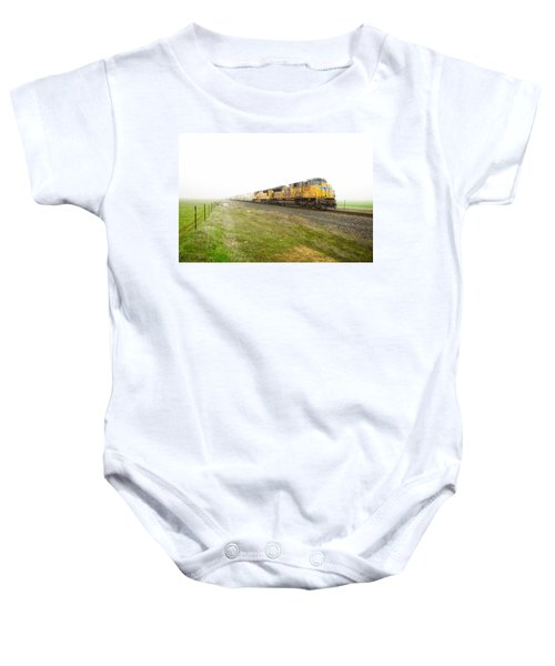 Baby Onesie featuring the photograph Up8420 by Jim Thompson