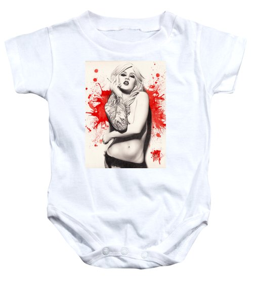 Vermillion Baby Onesie